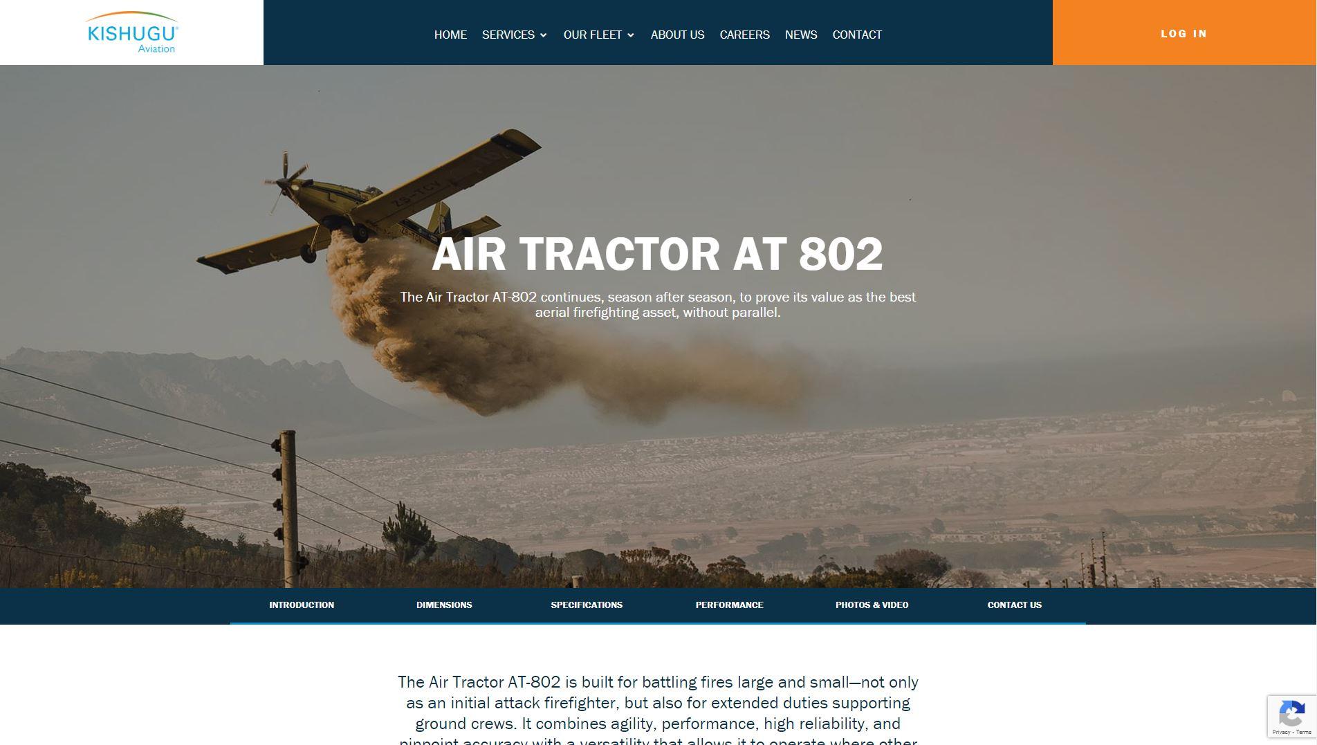 Kishugu Aviation Website